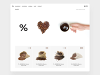 %ARABICA Website Redesign