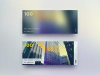 Minimalistic Banknotes