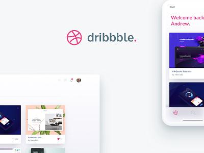 Dribbble Redesign interface shadows munich blur animation ux ui design redesign dribbble