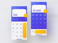 Mellow UI Kit Calculator