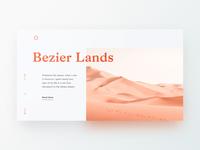 Bezier Lands
