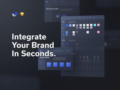 Shift Design System Brand Integration documentation release live buy symbols atomic components app ux sketch products kits ui shift system design ui8net ui8 frish yung