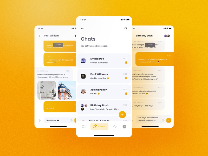 Chummy UI Kit Chat yung frish ui8 ui8net design system shift ui kits products sketch ux app components atomic symbols buy live release documentation