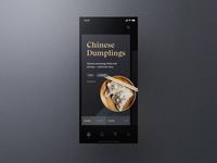 Sheek Food iOS UI Kit Hero Animation