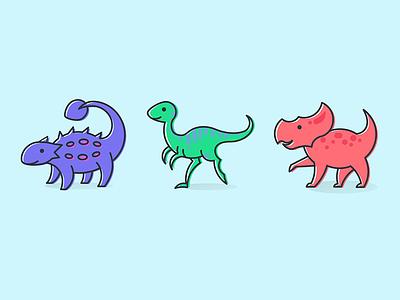 Dinosaurs on Parade icon dinosaur