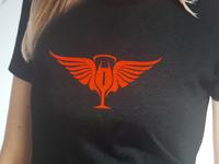Angel Cocktail Waitresses Shirt