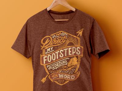 5k Shirt vintage apparel design t-shirt graphic tee illustration hand lettering lettering