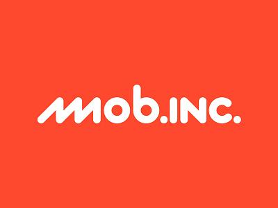 mob.inc. logo lettering zigzag geometric