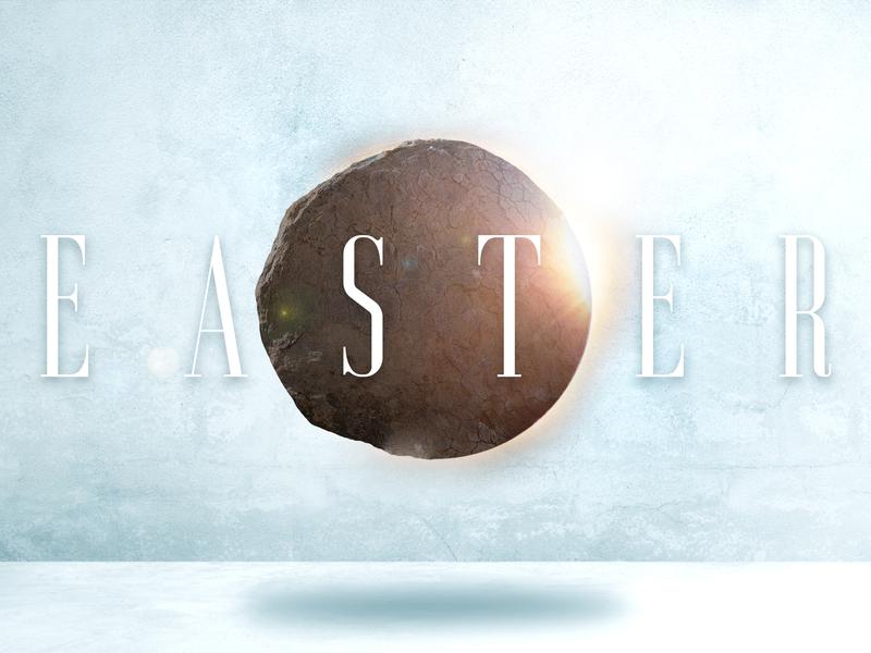 Easter 2019 message church resurrection stone bible slide series easter