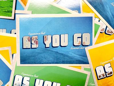 As You Go Postcards