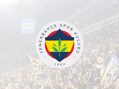 Fenerbahce New Logo fenerbahce logo new champion 2014 love yellow darkblue red green