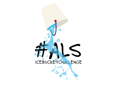 ALS - Ice bucket challenge als icebucketchallenge illustration bucket