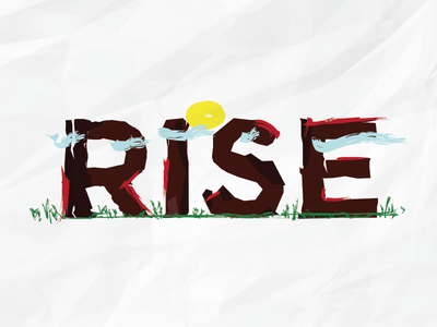 Rise Typograghy efabrika rise typography typo calendar sun cloud brand paper