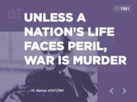 Ataturk Quote