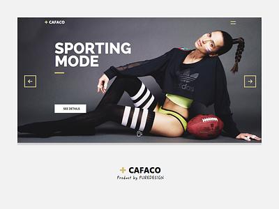 Cafaco Sketch Template bjorn sketch work portfolio fashion wordpress theme web
