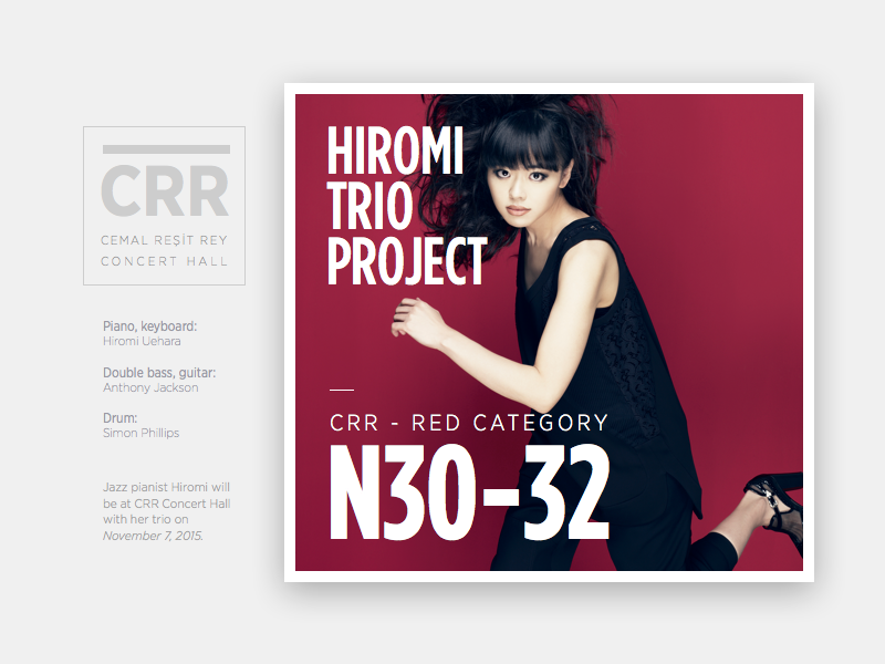 Hiromi trio project