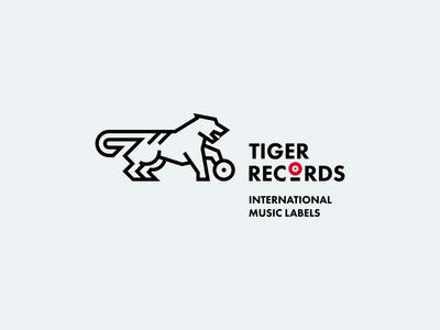 Tiger Records Logo
