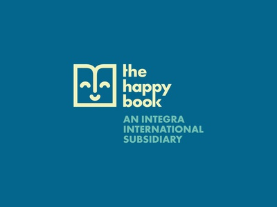 The Happy Book Concept Logo