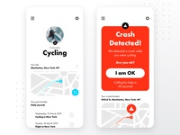 Crash Detection and Safety App