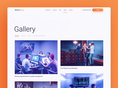 Global Group Gallery web design ecommerce ux design user experience ui ux design ui elements platform minimal app icons design figma desktop ui crypto dashboard clean design 2019 trends desktop app website typogaphy