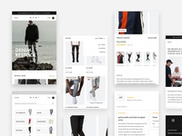 Mobile first design for streetwear brand
