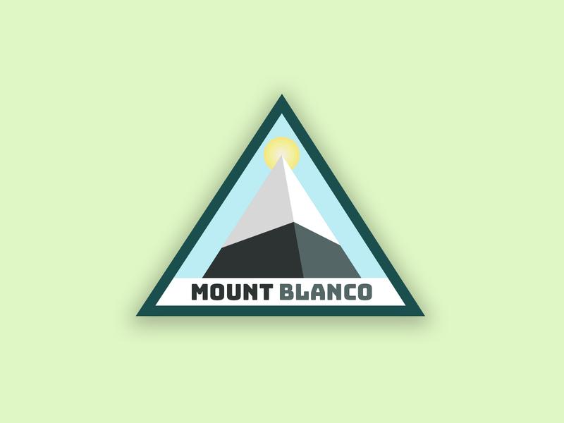 Mounty McMountainface mount blanco ski logo dailylogochallenge