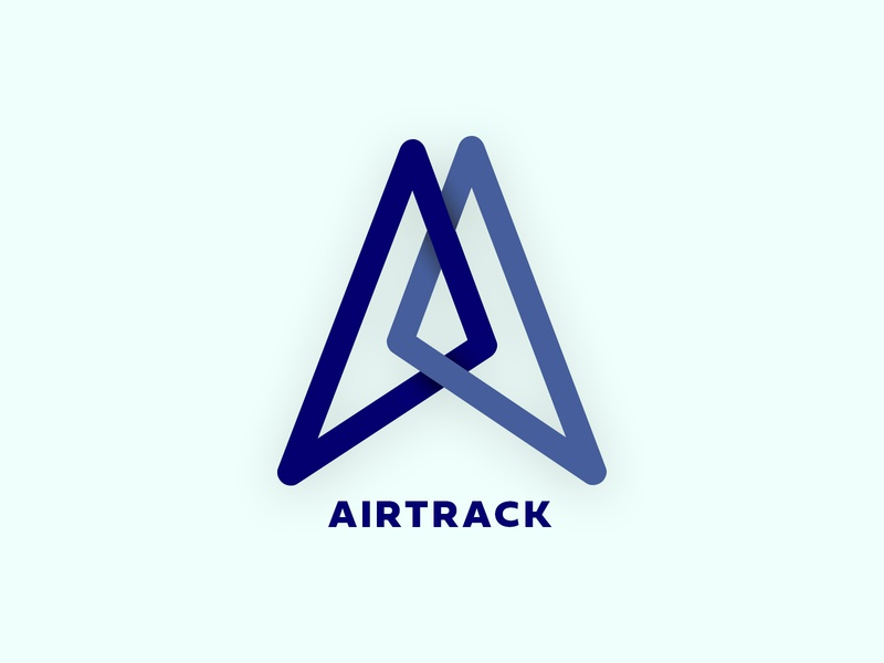 Airy McPlaneface airplane airline airtrack logo dailylogochallenge