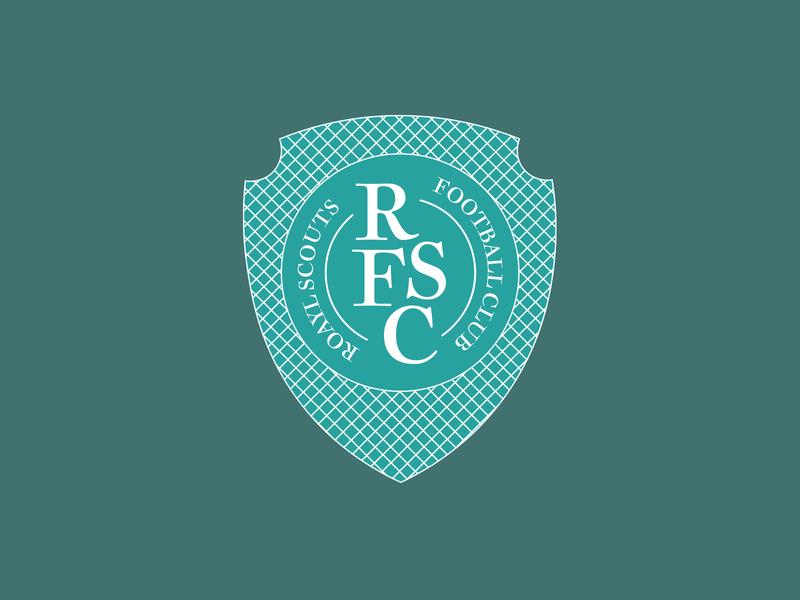 Sporty McSportsface royal scouts sports team logo dailylogochallenge