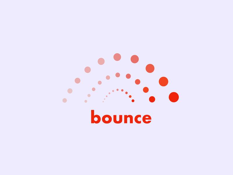 Bouncey McBounceface bounce messaging app logo dailylogochallenge