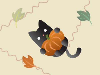021 - Kitty Pumpkin