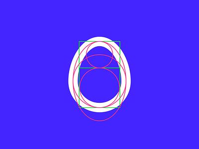 🥚 Then chicken logo design branding ui hi tech blue symbol chicken egg illustration tsverava georgia concept monogram design logo
