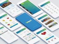 Tasawwaq Mobile App Design in Arabic Language