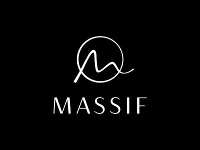 Massif Gin design logo design illustration brand identity packaging branding identity logo