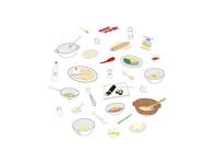 Finlandia Icons ui finlandia recipes recetas cook food design icons icon