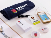 Rocket Bags Branding