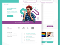 Strive Care landing page