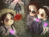 Identity V mobile game fan art