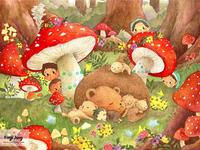 Forest Fantasy - Children's Illustration