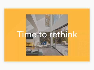 Connect Homes ux architecture interaction design branding animation design 3d ui motion