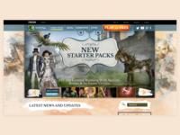Client - Trion Worlds - ArcheAge Landing Page