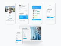 Client - Radius Agent web design design art direction ui branding app product design