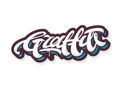 Graffiti vector streetart graffiti letters letter type font logo lettering calligraphy