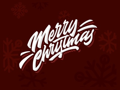 Merry Christmas christmas merry letters letter type font logo lettering calligraphy