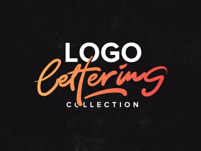 Logo & Lettering Collection comission behance logofolio collection typography brand calligraphy lettering logotype logo