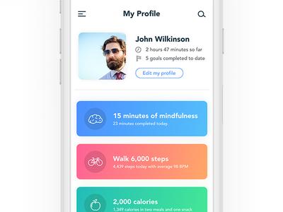 Healthcare profile