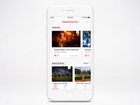 Event app preview