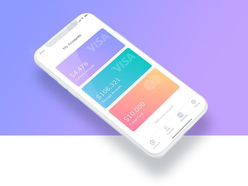 More exploration ux ui transfer savings profile money mobile iphone x ios fintech cards bank