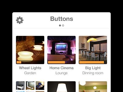 Button Up ui app ios
