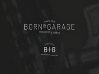 Born In Garage Logo
