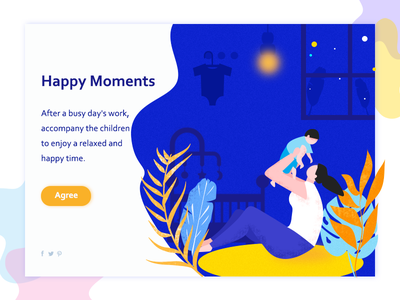 Happy Moments illustration